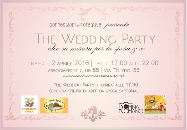 invito wedding party